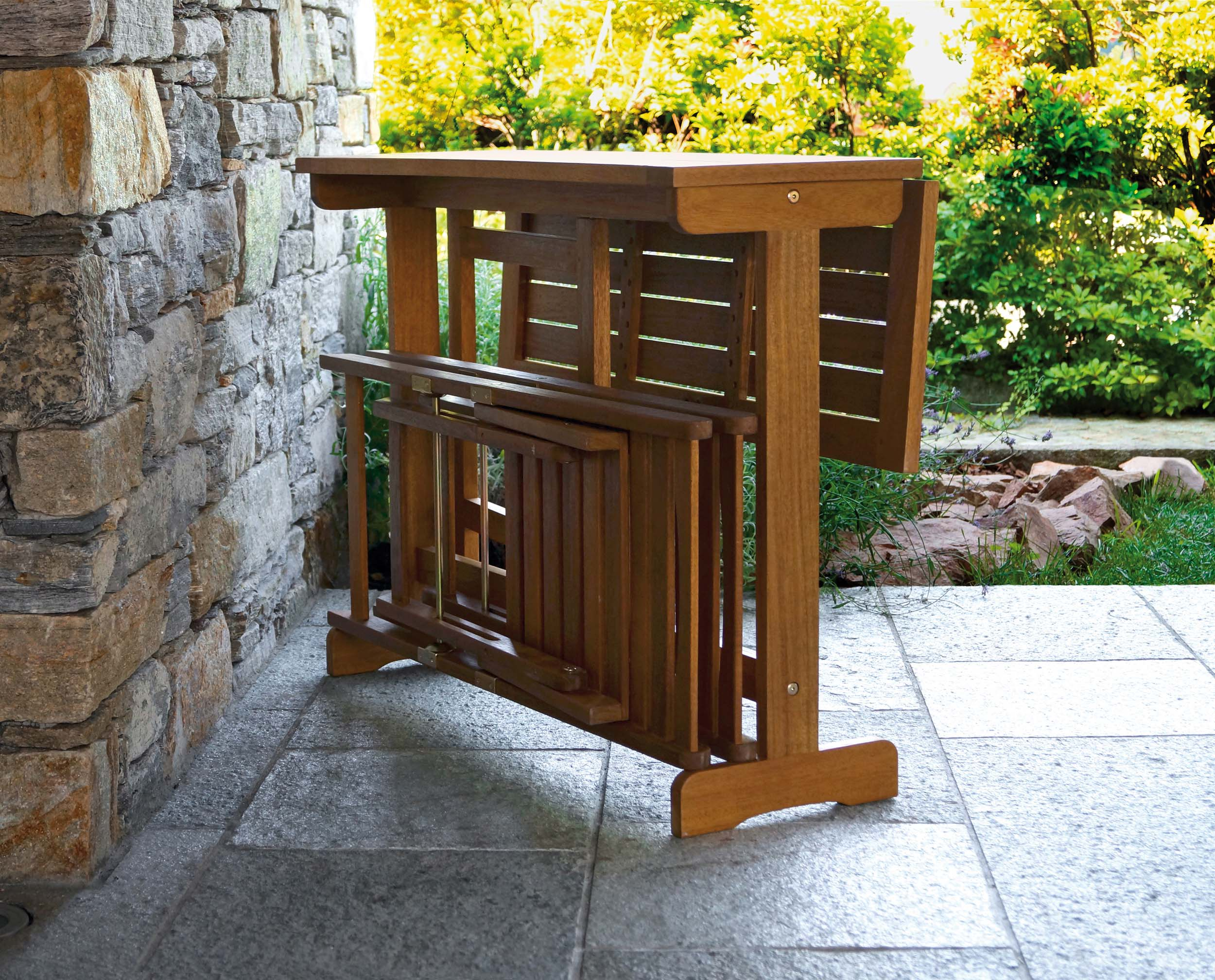 Set balcony arredo giardino ercole tempo libero for Set giardino legno