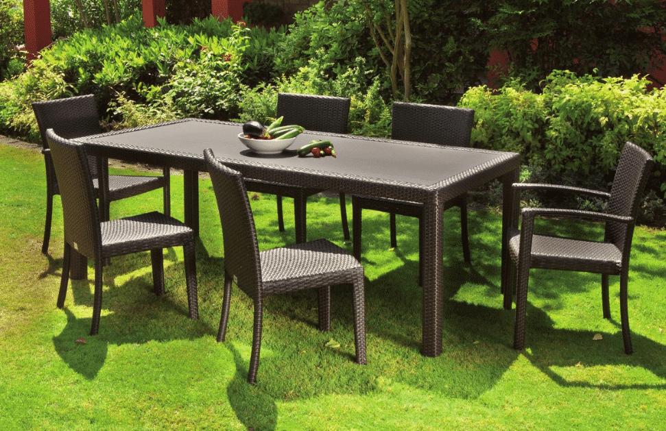 Mobili Da Giardino In Plastica : Tavoli da giardino tavoli da esterno